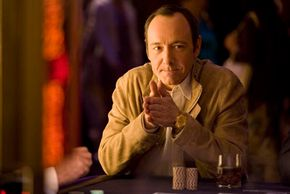 """In """"21,"""" Micky Rosa (Kevin Spacey) is an enigmatic statistics genius who's figured out how to beat Vegas at blackjack."""