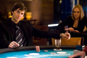 """In """"21,"""" Ben Campbell (Jim Sturgess) is recruited by Jill Taylor (Kate Bosworth) to join MIT's blackjack team."""