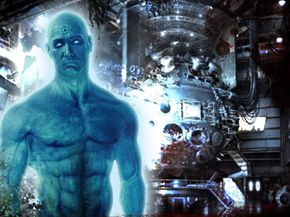 """Dr. Manhattan, one of the main players of """"Watchmen"""""""