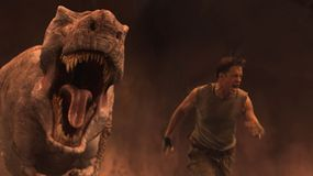 Dinosaur out to claim Trevor (Brendan Fraser)