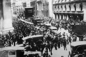 Following the crash of 1929, the federal government formed the SEC as part of finance reform.