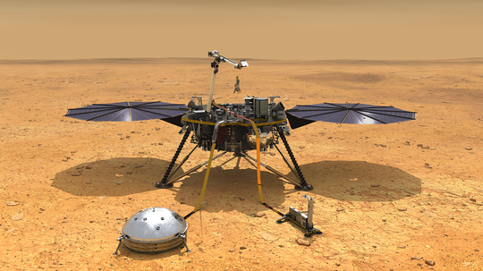 NASA's InSight Will Probe Mars' Quakes, Temperature and Wobble to Understand Its Origins