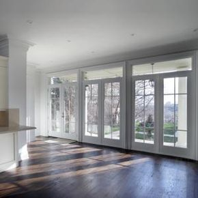 French doors match the practicality of sliding glass doors while providing added elegance and beauty to your home.