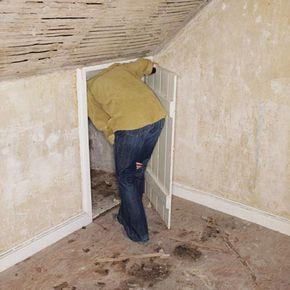 What deeds has this secret room seen?