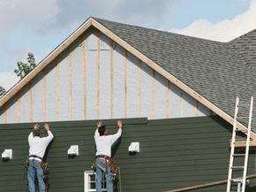 Vinyl siding is a practical and economic siding option.