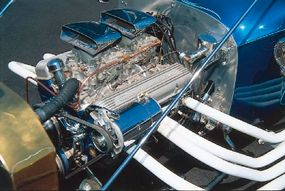 The Instant T hot rod's engine of choice was the Corvette 283-cid V-8.