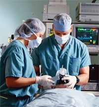 Same-day surgery is an outpatient benefit.