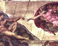 """Michelangelo's """"Creation of Adam"""""""