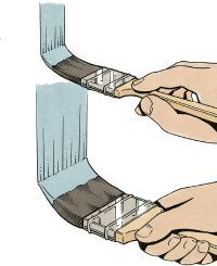 Grasp sash and trim brushes as you would a pencil (top). Hold a wall brush with your entire hand (bottom). See home design pictures.