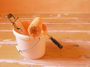 Interior paints can be used on almost any surface in your house, but care should be taken to use the right paint on the right material.