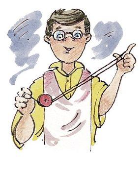 Gently drop the yo-yo onto the string near your yo-yo hand.