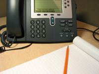 Making international calls from a landline is similar to long-distance dialing.