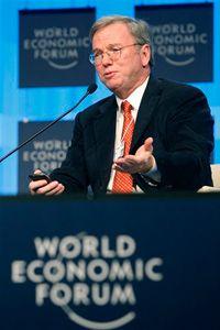 Eric Schmidt, then CEO of Google