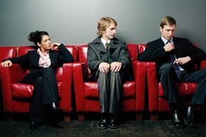 Your demeanor before the interview could make the difference between an offer and continued unemployment.