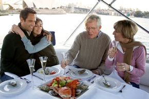 Dinner on a yacht for the parental meet and greet? He must be really special -- because no one can escape!