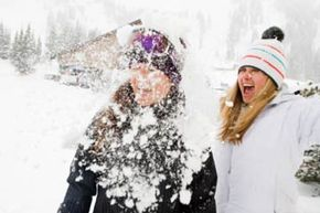 Will they still be friends when the snowball fight blows over -- and the vacation ends?