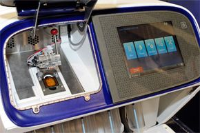 Close-up of the Ion Proton Sequencer at the 2012 International Consumer Electronics Show