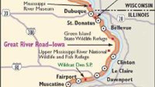 Iowa Scenic Drive: Great River Road