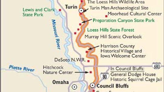 Iowa Scenic Drives: Loess Hills Scenic Byway