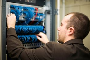 Routing all systems through IP means having just one network to maintain and upgrade.