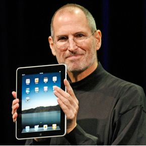 Apple CEO Steve Jobs unveiled the iPad on Jan. 27, 2010. See more gadget pictures.