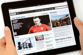 Users spend almost half their iPad time browsing the Web.