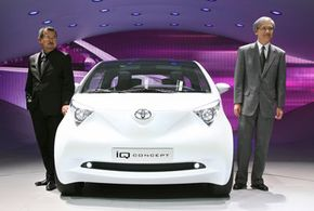 Rumors about Toyota partnering with Yamaha on the iQ suggest the minicar will come equipped with a motorcycle engine.
