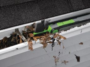 The iRobot Looj aims to clean out gutters remotely, so people can avoid the dangers of the task.