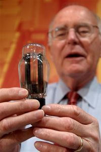 Gordon Moore, co-founder of Intel, is the Moore in Moore's Law.