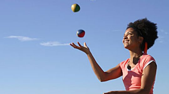Does juggling exercise your brain?