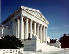 The Supreme Court of the United States is the most powerful court in the U.S., only hearing a limited number of cases on appeal from lower courts.