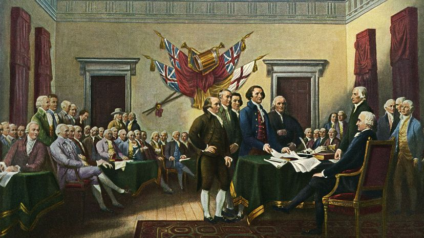 "John Turnbull's ""Signing of the Declaration"""