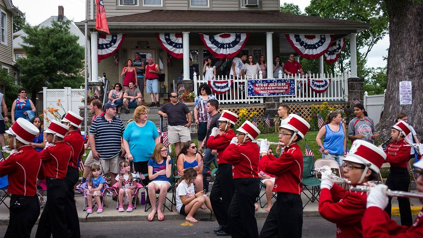 Fourth of July parade, New Jersey