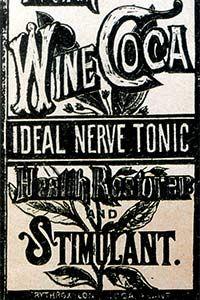 Coca-Cola was originally sold as a medicinal elixir, as seen in this vintage advertisement.
