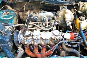 Image Gallery: Engines Is it really worth your time to rummage through a junkyard to find a replacement part for your car? See more pictures of engines.