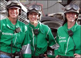 Wenches with Wrenches, one of the teams that will compete in season 8, all come from a drag-racing background.