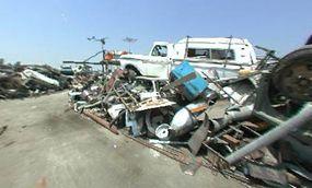The L.A. junkyard set