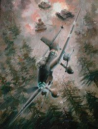 Skilled pilots helped the slow Junkers Ju 87 Stuka excel as a tank killer.