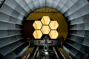 """The James Webb Space Telescope can be thought of as the """"successor"""" to the Hubble telescope."""