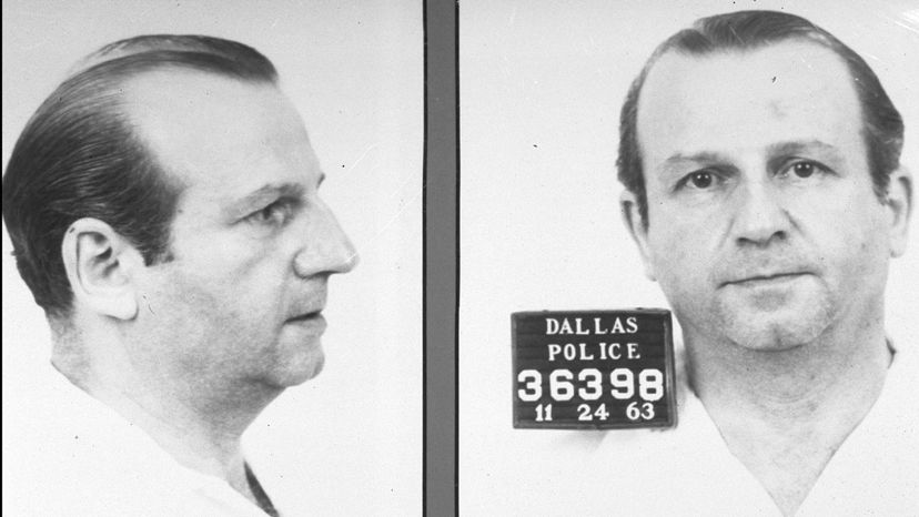 Jack Ruby booking