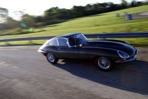 The Jaguar XKE was the stuff of dreams -- a racing car built for the road. See more Jaguar pictures.