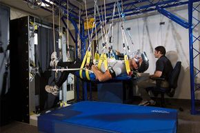 This NASA study was the first to demonstrate that exercise alone was completely effective for preventing deconditioning during strict bed-rest, using exercise equipment similar to that on the International Space Station.