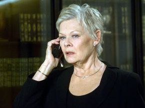"""Dame Judi Dench as the newest """"M"""" in the 2006 film """"Casino Royale."""""""