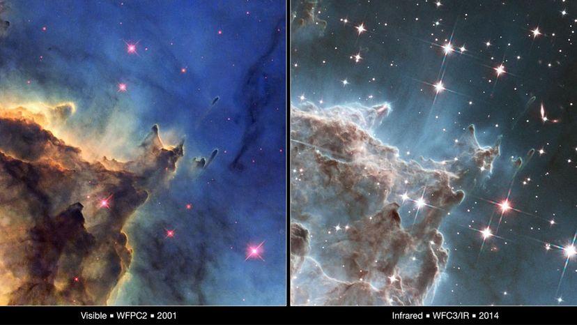 Hubble vs. Webb