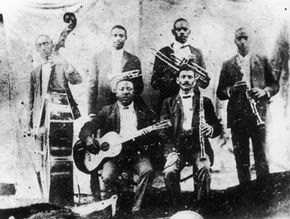 The Buddy Bolden Band, New Orleans, circa 1900
