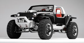 Image Gallery: Concept Cars Jeep Hurricane concept car. See more concept car pictures.