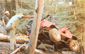 Learning the Jeepers rules and tricks of off-road driving helps avoid dangerous situations.