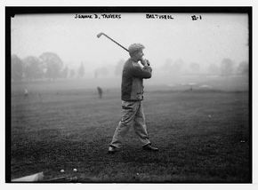 Jerome Travers was the closest thing to a dominant player in the decade preceding World War I, thanks in part to his calm demeanor. See more pictures of famous golfers.