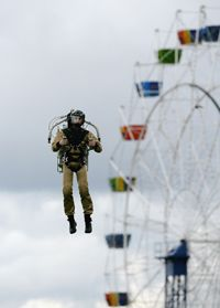 Will we each have our own jet pack someday? See more jet pictures.