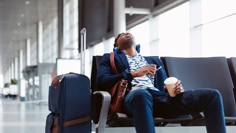 tired traveler